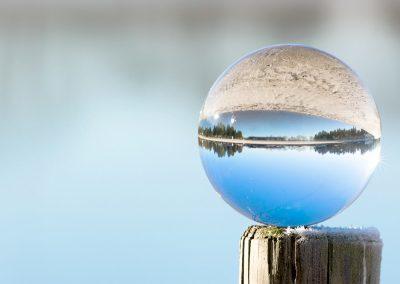 De glazen bol is voor fotografie echt een leuke uitdaging | GlazenBollen.NL